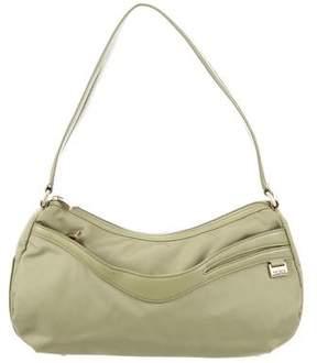 Tumi Leather-Trimmed Shoulder Bag