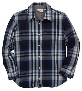 AG Jeans Stanford Plaid Flannel Shirt (Big Boys)