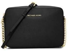MICHAEL Michael Kors Jet Set Travel Saffiano Crossbody Bag - ADMIRAL - STYLE