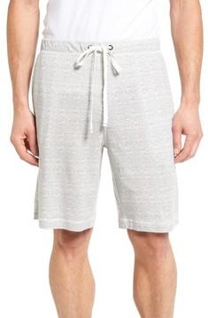 Daniel Buchler Men's Feeder Stripe Pima Cotton & Modal Lounge Shorts
