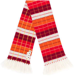 Marni striped knit scarf