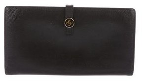Chanel Leather French Purse Wallet