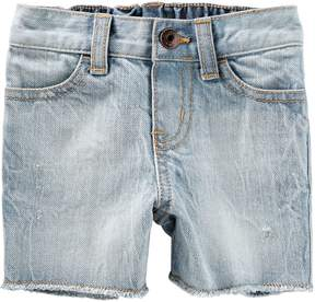Osh Kosh Oshkosh Bgosh Baby Boy Washed Cut Off Denim Shorts