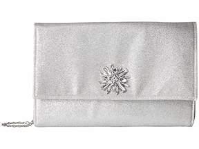 Jessica McClintock Nora Shimmer Large Envelope Clutch Clutch Handbags