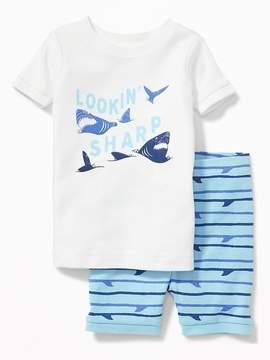 Old Navy Lookin' Sharp Shark Sleep Set for Toddler & Baby