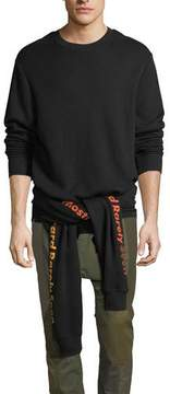 Mostly Heard Rarely Seen Upside-Down Cotton Sweatshirt