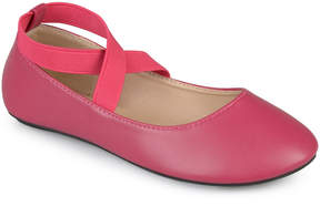 Journee Collection Raspberry Nessa Ballet Flat