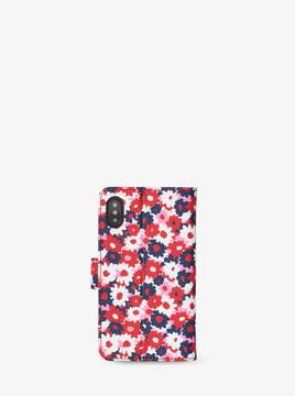 MICHAEL Michael Kors Carnation Folio Case For iPhone X
