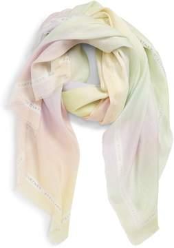 Stella McCartney Tie Dye Silk & Modal Scarf