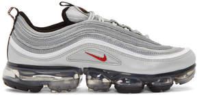 Nike Silver Air Vapormax 97 Sneakers