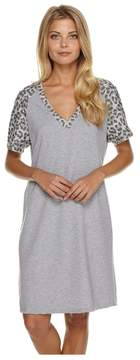 Cosabella | Sterling Short Sleeve Dress | S | Gray