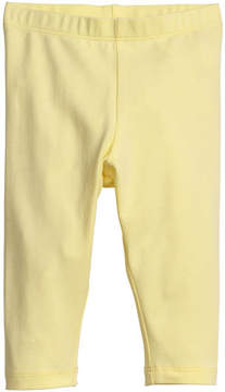 H&M Jersey Leggings - Yellow