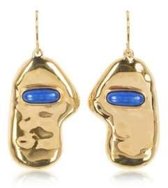 Aurelie Bidermann Women's Gold Steel Earrings.