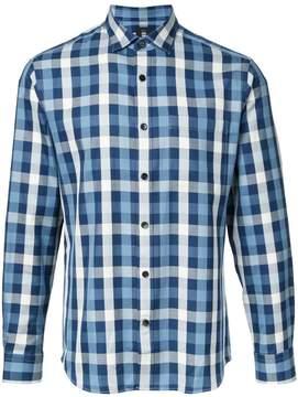 Kent & Curwen checked shirt