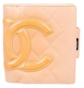 Chanel Cambon Ligne Compact Wallet