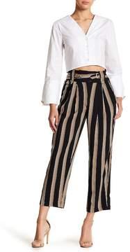 J.o.a. Striped Crop Pants