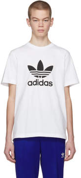 adidas White Trefoil T-Shirt