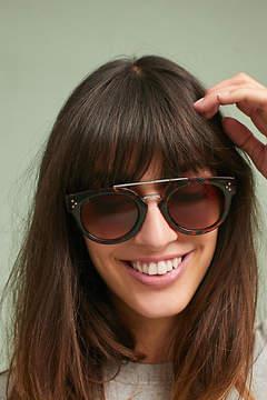 Anthropologie Oval Cat-Eye Sunglasses