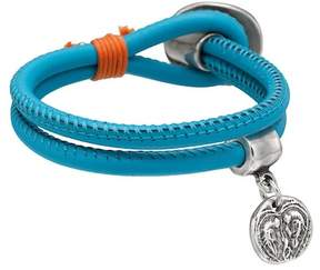 Uno de 50 Ni Chapa Leather Bracelet