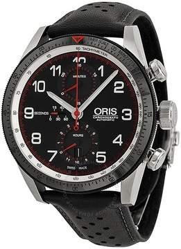 Oris Calobra Limited Edition Automatic Chronograph Black Dial Steel Men's Watch 774-7661-4484