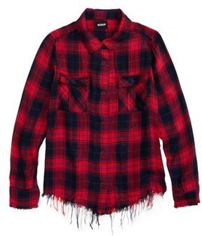 Hudson Girl's Erin Plaid Shirt