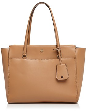 Tory Burch Parker Leather Tote - CARDAMOM/GOLD - STYLE