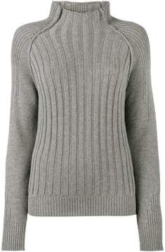 Lot 78 Lot78 high neck ribbed sweater