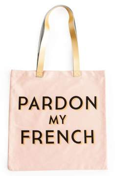 Rosanna 'Pardon My French' Tote Bag - Pink