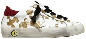 Golden Goose Deluxe Brand Super Star Hearts Nappa Leather Sneakers