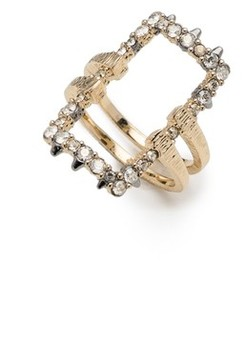 Alexis Bittar Women's Elements Crystal Encrusted Ring