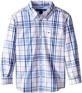 Tommy Hilfiger Kids - Long Sleeve Ethan Shirt Boy's Clothing