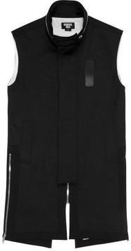 General Idea G7a08002 High Neck Vest Black