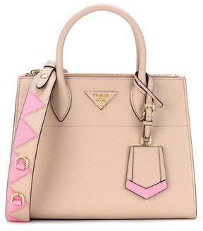 Prada Paradigme leather shoulder bag
