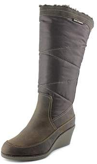 Hush Puppies Hilde Hyde Round Toe Canvas Knee High Boot.