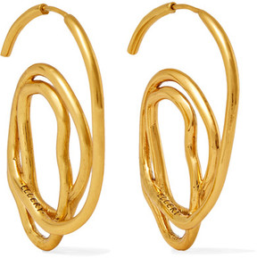 Ellery Memphis Gold-plated Earrings