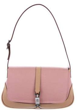 Gucci Canvas Jackie Hobo - PINK - STYLE