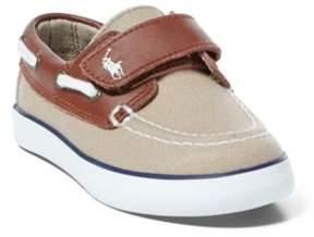 Ralph Lauren Sander Ez Boat Shoe Khaki/Tan 4