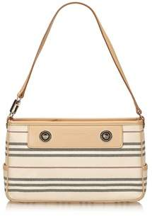 Burberry Pre-owned: Jacquard Shoulder Bag. - WHITE X IVORY X BROWN X BEIGE - STYLE