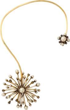Erickson Beamon Pearl Stratosphere Open Necklace