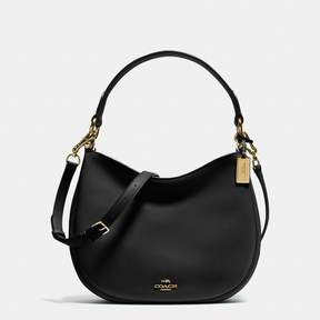 COACH COACH MAE CROSSBODY - BLACK/LIGHT GOLD