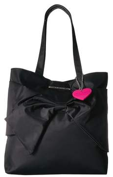 Betsey Johnson Bow Tote Tote Handbags