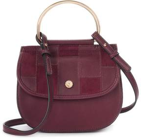 Lauren Conrad Delice Patchwork Flap Convertible Crossbody Bag