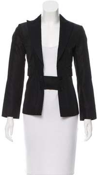 CNC Costume National Silk Fitted Blazer