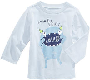 First Impressions Loud-Print Cotton T-Shirt, Baby Boys (0-24 months), Created for Macy's