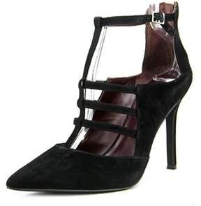 BCBGeneration Thatcher Women Pointed Toe Suede Black Heels.