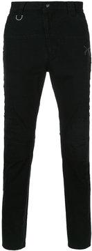 Roar distressed biker jeans