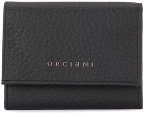 Orciani Soft Black Tumbled Leather Wallet