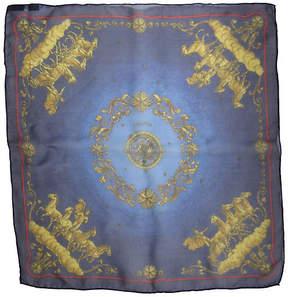 One Kings Lane Vintage Hermès Cosmos Chiffon Pochette Scarf