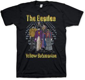 Bravado The Beatles Black Yellow Submarine Tee - Men's Regular