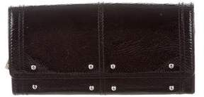 Tod's Patent Leather Compact Wallet